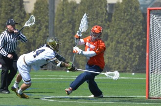 Freshman Mikey Wynne put the Irish up 2-1 on a feed from Conor Doyle.