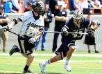 ACC Defensive Player of the Year Matt Landis limited All-American John Glesener to three goals on 12 shots.