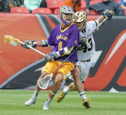 Matt Landis matched Lyle Thompson with each step, holding The Tewaraaton Award winner to one goal on 11 shots.