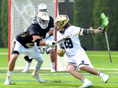 Senior Conor Doyle led the Irish comeback with another hat trick.