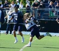 Junior Anthony Marini scored twice in the fourth.